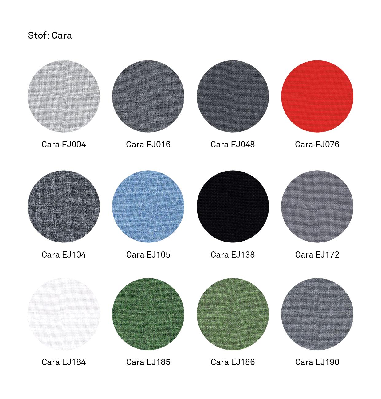 Farveskema_Textile-opslagstavle_Cara